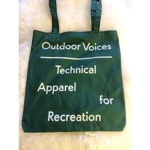 Exclusive Outdoor Voices Aspen Tote
